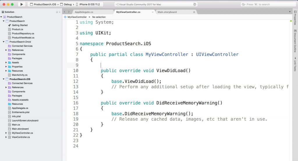 iOS developer's look at Xamarin and React-Native - Utemissov